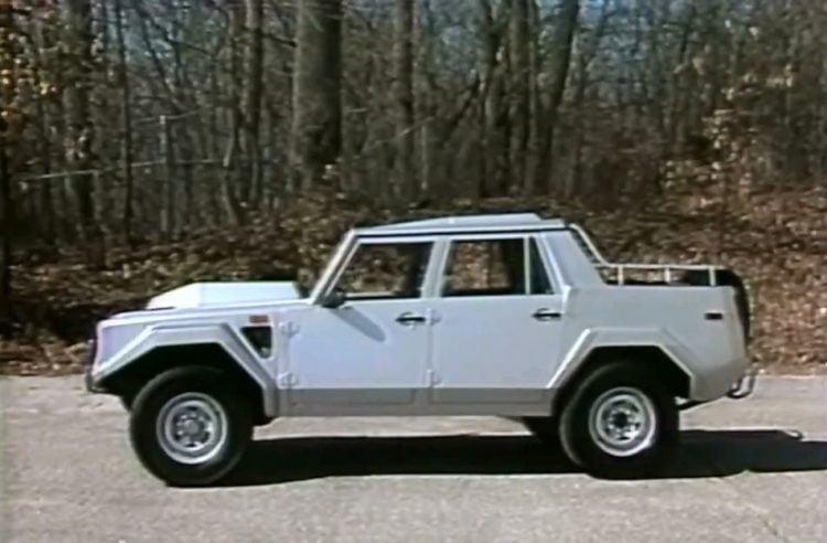 1987 Lamborghini LM002 side
