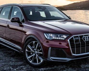 2020 Audi Q7 55 side