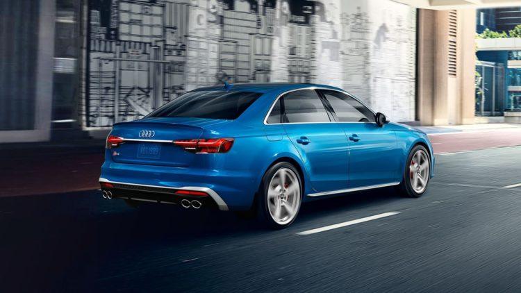 2020 Audi S4 back