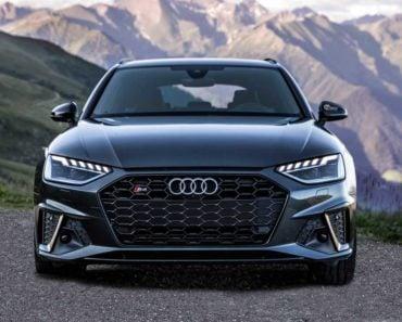2020 Audi S4 front