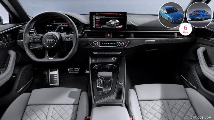 2020 Audi S4 interior