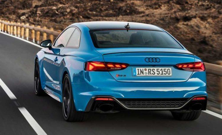 2021 Audi RS5 back