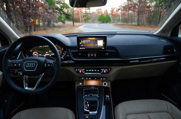 2021 Audi RS5 interior 1