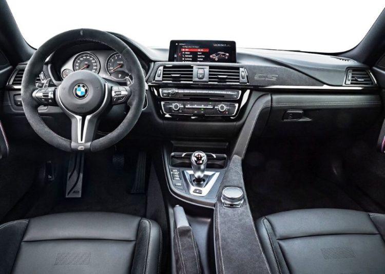 2021 BMW M4 interior