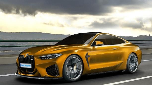 2021 BMW M4 side