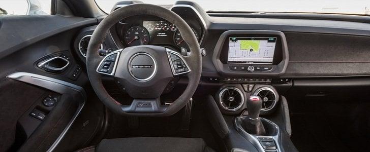 2021 Cadillac CT5-V Blackwing interior