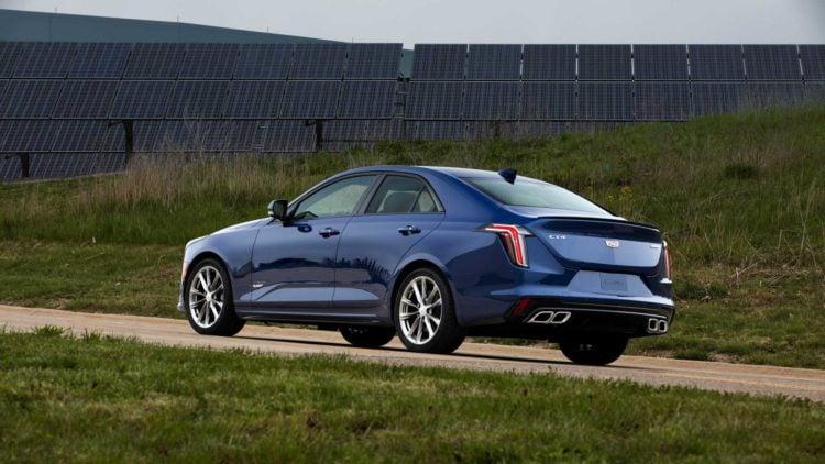 2021 Cadillac CT5-V Blackwing side 1