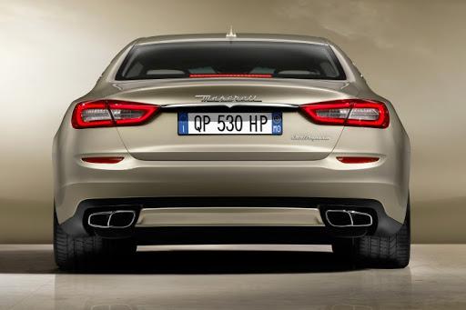 2021 Maserati Quattro back
