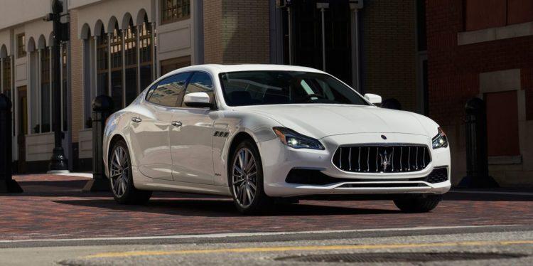 2021 Maserati Quattro exterior
