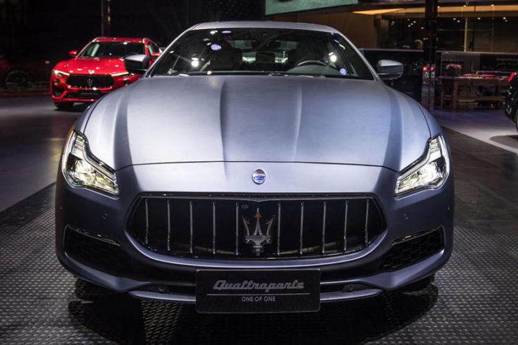 2021 Maserati Quattro front