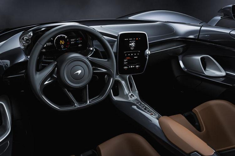 2021 McLaren Elva Prototype interior
