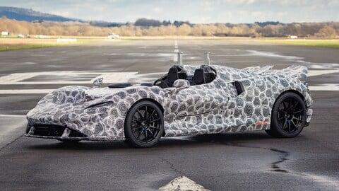 2021 McLaren Elva Prototype side