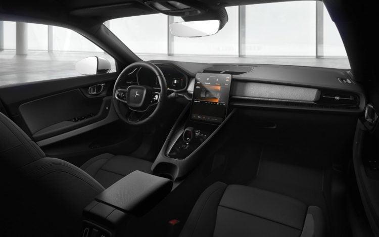 2021 Polestar 2 interior