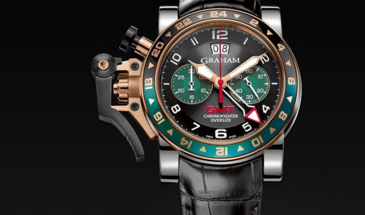 Chronofighter GMT REF. 2OVGG.B16A