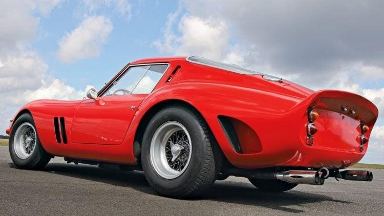 Ferrari 250 GTO back