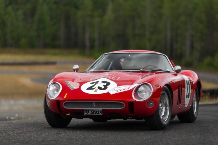 Ferrari 250 GTO exterior