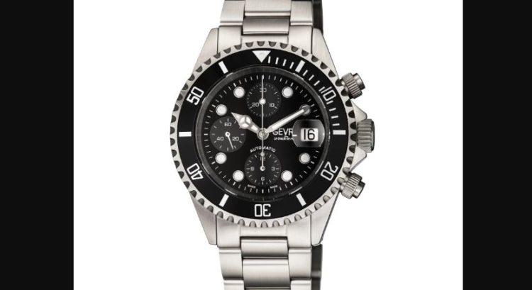 Gevril 4157A Men's Wall Street Stainless Steel Bracelet Watch