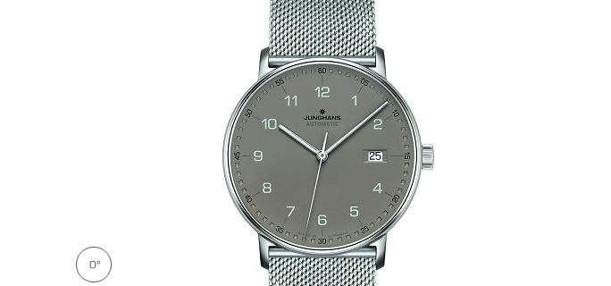 Junghans Form A - Automatic Matt Taupe Dial 0274836.44