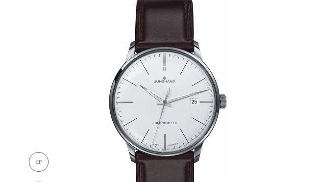 Junghans Meister Chronometer Matte-Silver Dial Date 0274130.00