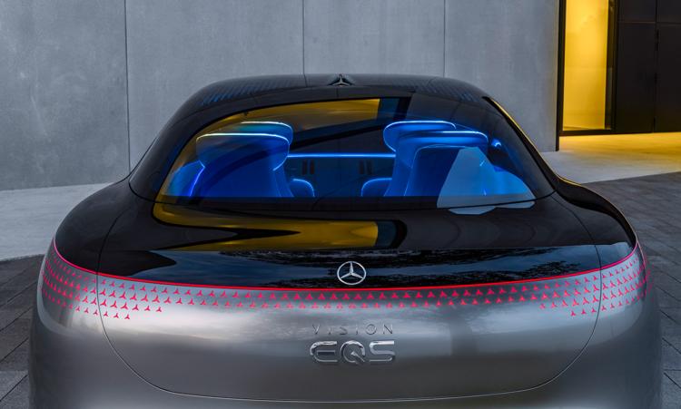 Mercedes Vision EQS back