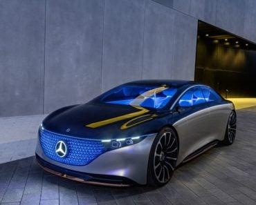 Mercedes Vision EQS exterior