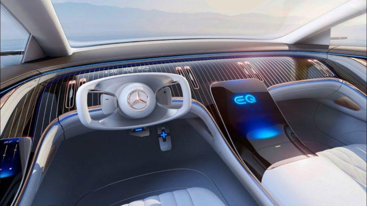 Mercedes Vision EQS interior
