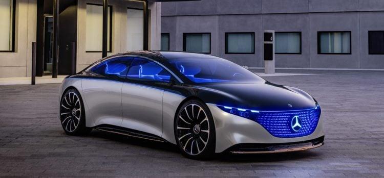 Mercedes Vision EQS side