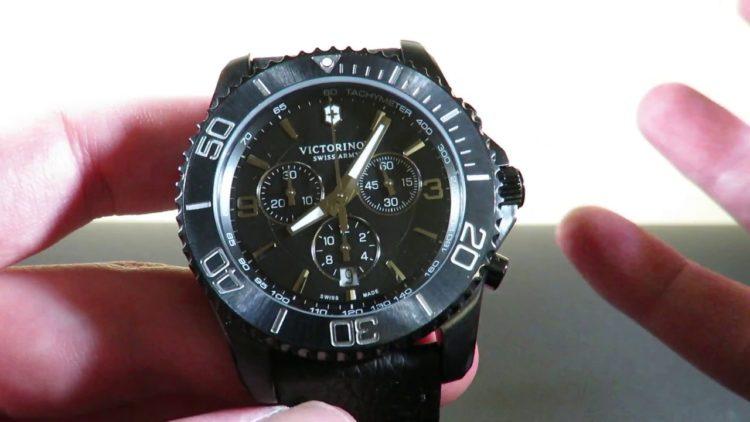 Victorinox Swiss Army Maverick Chrono Black Edition