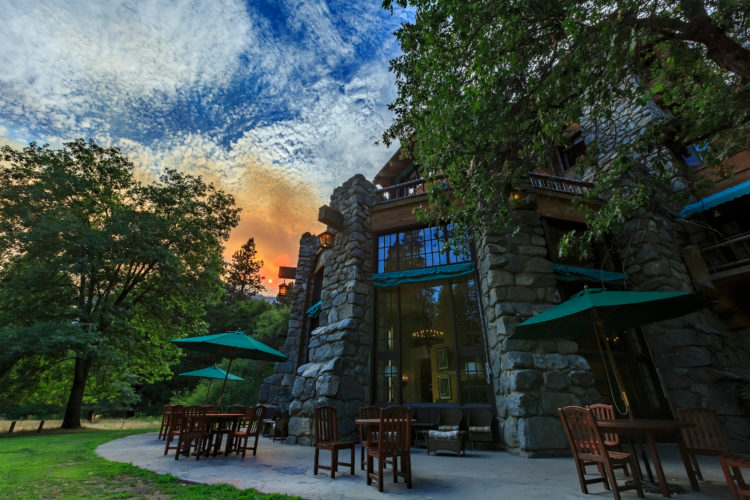 Upscale Meal at The Majestic Yosemite Hotel