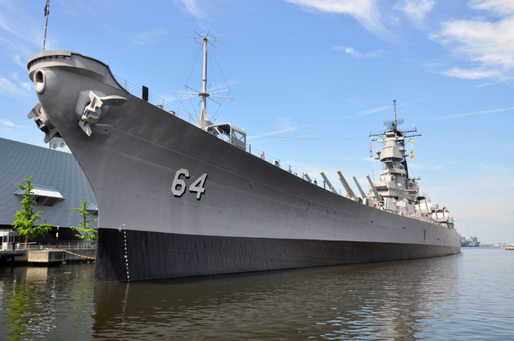 Battleship USS Wisconsin