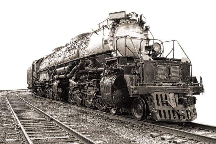 Big Boy Steam Engine