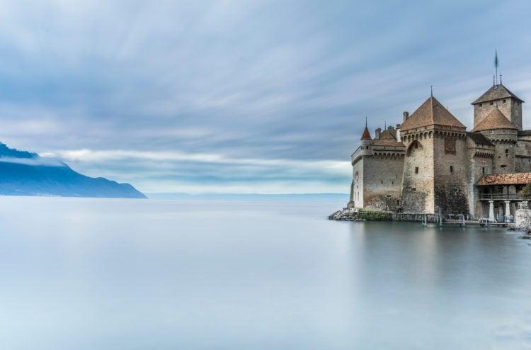 Chateau de Chillon in Montreux