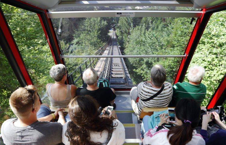 Interlaken and Take a Cable Car RIde