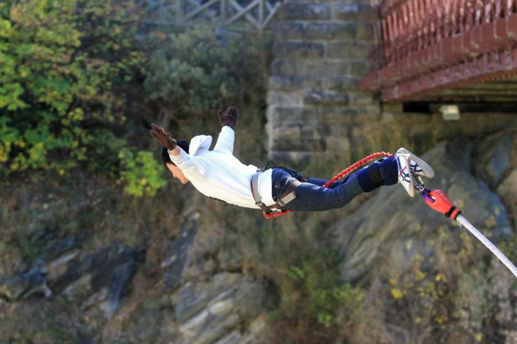 Bungee Jumping in Queenstown