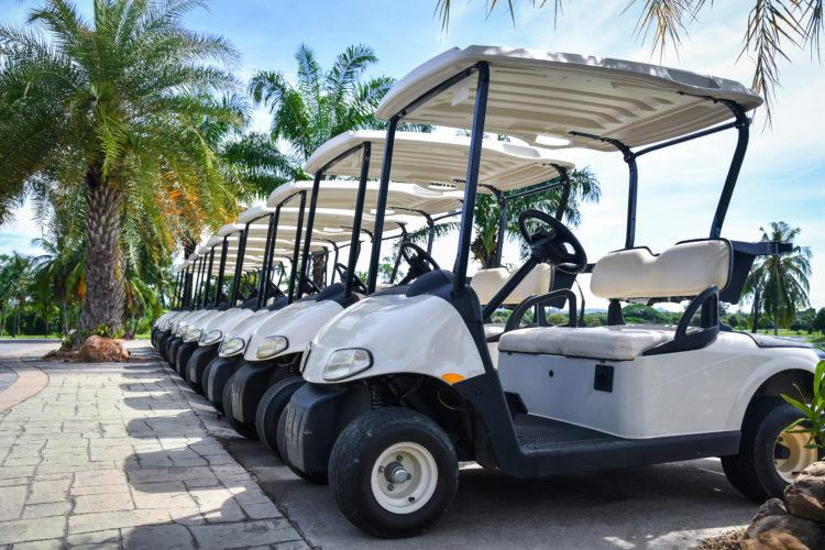 Travel Around in a Golf Cart