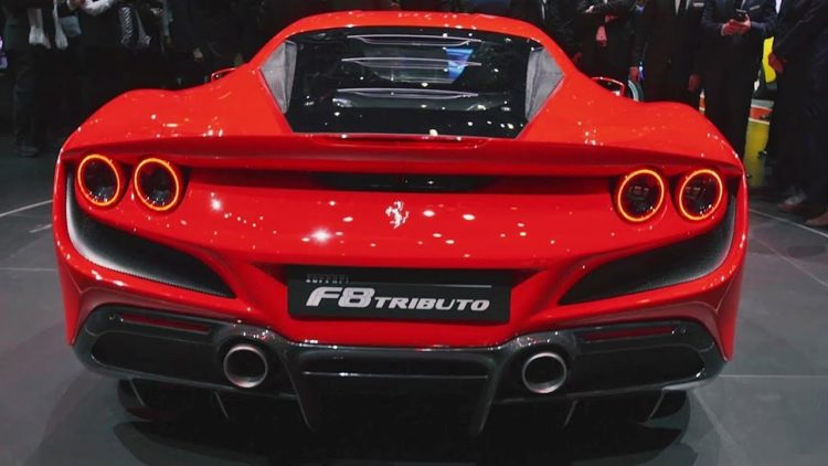 2020 Ferrari F8 Tributo back 1