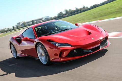 2020 Ferrari F8 Tributo front