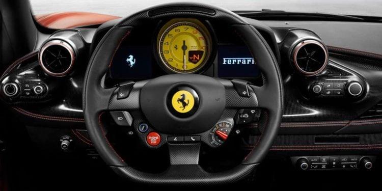 2020 Ferrari F8 Tributo interior