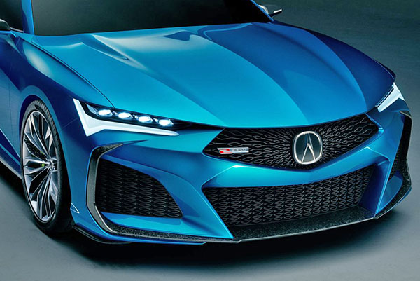 2021 Acura TLX front