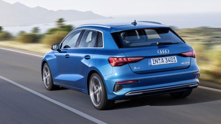 2021 Audi A3 back