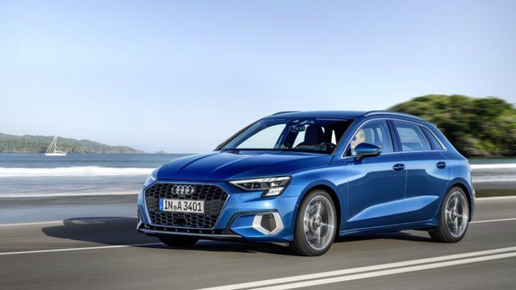 2021 Audi A3 front