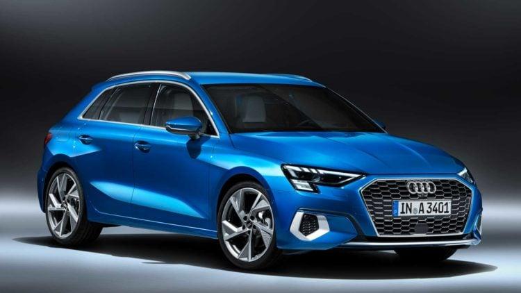 2021 Audi A3 side
