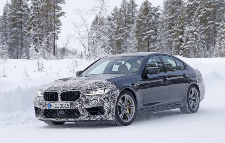 2021 BMW M5 exterior