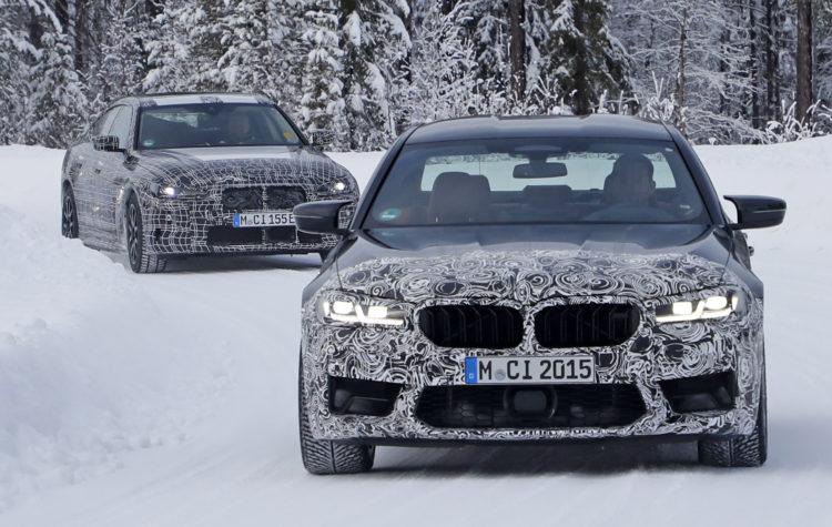 2021 BMW M5 front
