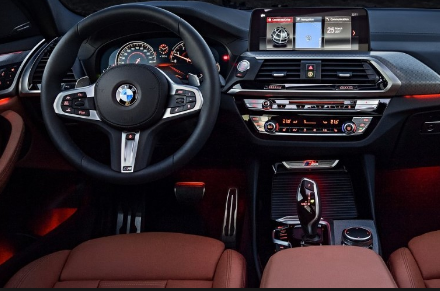 2021 BMW iX3 interior 2