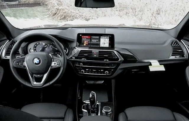 2021 BMW iX3 interior