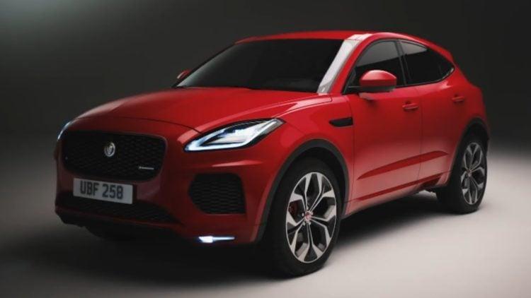 2021 Jaguar E-Pace exterior