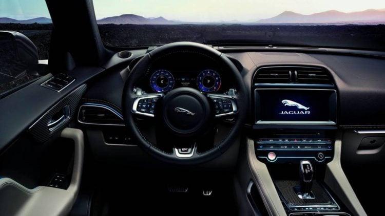 2021 Jaguar E-Pace interior 1