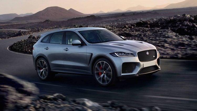 2021 Jaguar E-Pace side