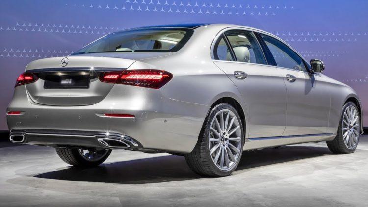 2021 Mercedes-Benz E-Class back